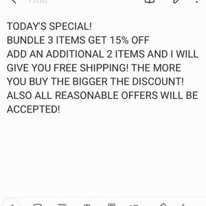 Let's make a deal!